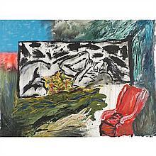 Bedri Baykam (né en 1957)La Belle qui dort, 1989