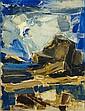 Xaris VOYATZIS (1924-1981) Le Rocher, 1957