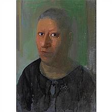 Edouardos SAKAYAN (né en 1957) Portrait, 1985