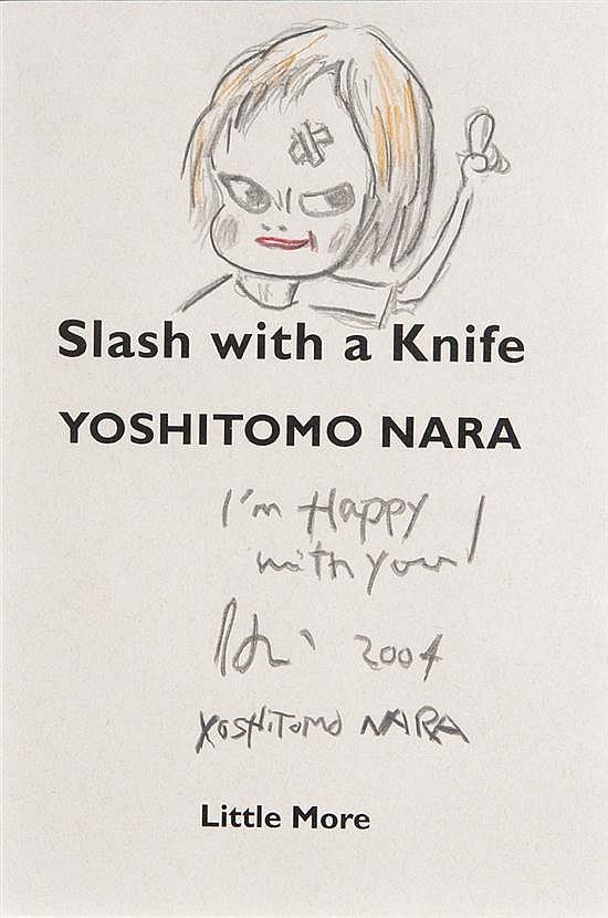 Yoshitomo NARA (né en 1959) I'm happy with you, 2004