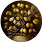 École ESPAGNOLE vers 1800 Nature morte de citrons