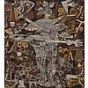 Emmanuel Ekefrey (né en 1952) Sans titre, 2010 Acrylique sur toile Œuvre signée et datée en bas à droite 153 × 138,5 cm, Ekong Ekefrey, Click for value