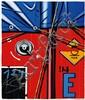Peter Klasen (Né en 1935) Camion Baché Lithographie, signée EA 8/25