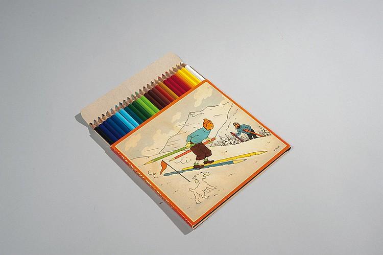 Boîte de crayons Staedler.
