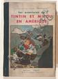 Les Aventures de Tintin et Milou en Amérique
