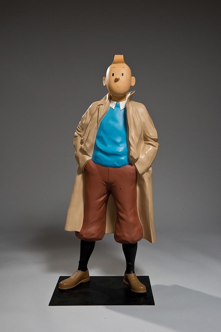 Statue Tintin /