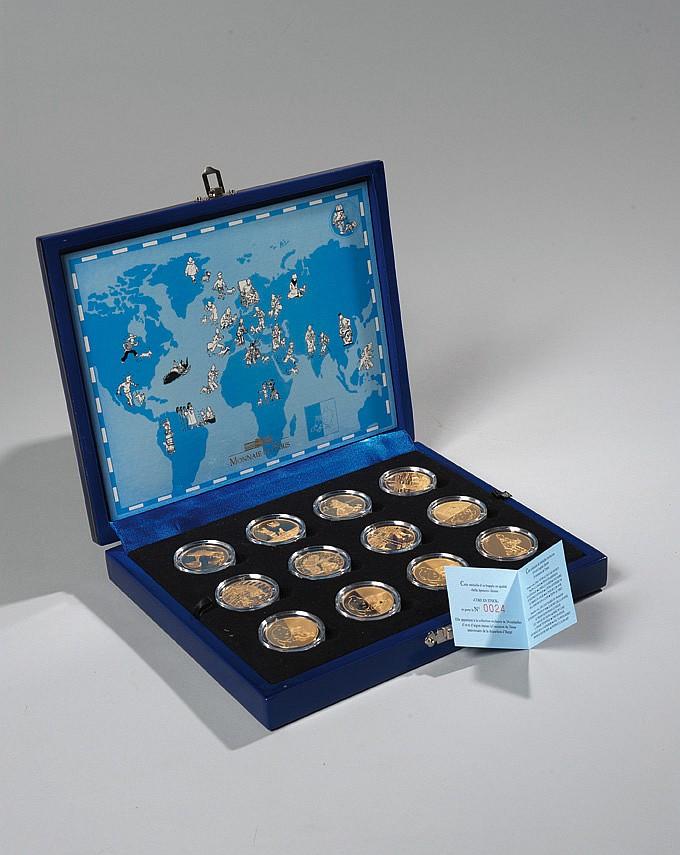 24 médailles en or