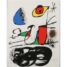 Joan Miro - Zao Wou ki et divers illsutrateurs - René CharLe Monde de l'Art n'est pas le monde du pardon