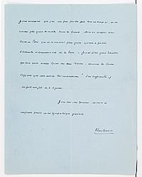 Pierre BENOIT (1886-1962). L.A.S., Mendi-Biskar, Bordagain, Ciboure 11 août 1948 ; 2 pages in-4 à son adresse. Il remercie de l'art...