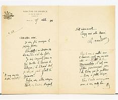 DIVERS. 17 lettres ou pièces, la plupart L.A.S.150/200 Henry Courmont, Ernest Desjardins (2), Victor Guérin, Charles Jourdan, Edmo...