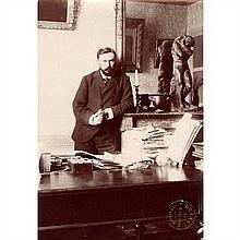 Gustave GEFFROY (Paris, 1855 - Paris, 1926) Écrivain, critique d'art et journaliste, le 23 août 1899