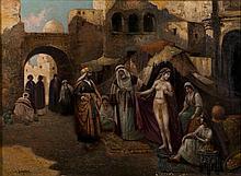 A BERGEN Femme au voile Huile sur toile signée en bas à gauche 74 × 100 cm (Écaillures visibles et manques)