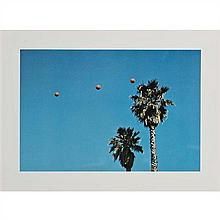 John Baldessari (né en 1931) Throwing 3 Balls in the air to get a straight line - best of thirty-six attemps