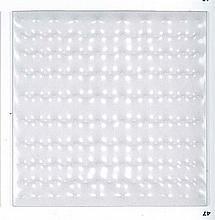 Enrico Castellani (né en 1930)Ettroflessione, 1968 RMultiple en plastique thermoformé