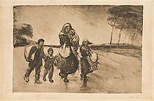 D'après Théophile Alexandre STEINLEN (1859-1923)