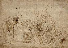 Attribué à Pietro LIBERI (1605-1687) Scène de martyre