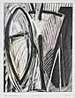 Gérard TITUS-CARMEL (né en 1942) Dessin d'été VIII (extraits fragments des saisons), 1990