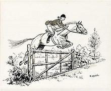 Dessin original de Paul Remi, frère d'Hergé