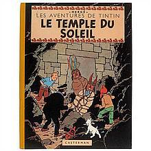 Le Temple du SoleilCasterman. Édition originale.