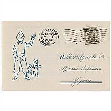 Carte de souscription TintinCarte de souscription à l'abonnement