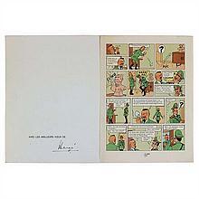 Carte de vœux 1978Planche 22 bis