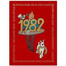 Carte de vœux 1982Fer à cheval