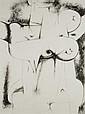 Servando CABRERA MORENO (1923-1981) Composition, circa 1965
