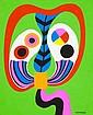 Jorge P. CASTAÑO (1932-2009) Boîte magique, 1972