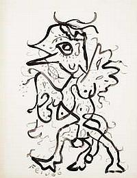 Samuel FEIJÓO (1914-1992) El coacal ave, 1966