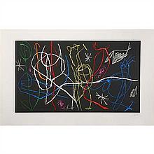 Joan Miro (1893-1983) L'Invité du dimanche III - 1969