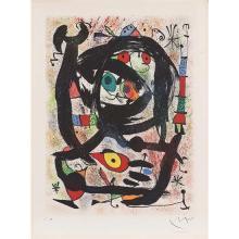 Joan Miro (1890-1980)County Museum of Los Angeles-1969