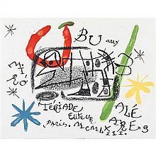 Joan Miro (1893-1983)Ubu aux Baléares - 1971