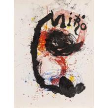 Joan Miro (1890-1980)Oeuvre gravée - céramiques - 1961