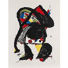 Joan Miro (1893-1983)El Golafre -1979