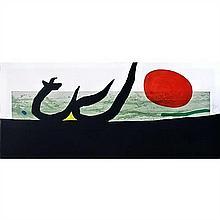 Joan Miro (1893-1983)La Grève noire - 1973