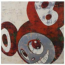 Takashi Murakami (né en 1962)And then, and then, and then - 2006
