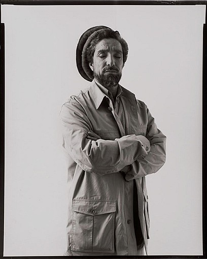 Jonathan ZABRISKIE Le commandant Ahmad Shah Massoud, Paris, 8 avril 2001