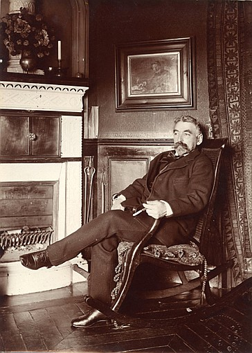 Paul Marsan dit DORNAC (1858-1941) Stéphane MALLARMÉ, (Paris, 1842 - Valvins, 1898)
