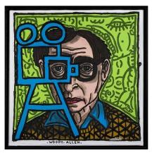 Robert Combas (né en 1957)Woody Allen, 2007