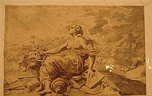 Claude Mellan (1598-1688) Henri de Mesmes (Conseiller au Parlement en 1608). Burin. 142 x 348. Préaud 174. Belle épreuve du 1er état...