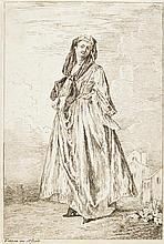 Jean-Antoine Watteau (1684-1721) Figures / de / modes / Dessinées et gravées / à l'Eau-forte / par Vatteau / et terminées au burin /..
