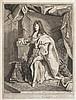 Pierre Drevet (1663-1738) Louis Le Grand. 1703 ou 1712 ? Gravé d'après Hyacinthe Rigaud. 520 x 695. Le Blanc 60 ou 61. Belle épreuve..