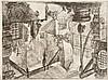 Giambattista Piranesi (1720-1778) Le Puits. (Carceri, pl. XIII). Eau-forte. 550 x 408. Hind 13 ; Robison 39. Très belle épreuve du 1...