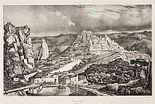 Adrien Dauzats (1804-1868) St Étienne Cathédrale de Cahors ; Le Puy-en-Velay ; Ruines de l'abbaye d'Aurillac. (Pl. pour les Voyages .