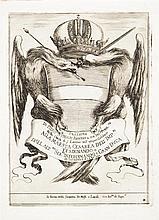 Stefano della Bella (1610-1664)Orazione di Piero Strozzi… 1637. Eau-forte. V., M. 926 bis. Superbe épreuve du 1er état (sur 2), tir...