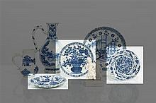 *CHINE - Époque KANGXI (1662-1722) Ensemble comprenant :