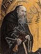 Defendente FERRARI (Actif dans le Piémont de 1509 à 1547) Saint Antoine abbé