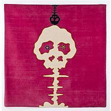 Takashi MURAKAMI (né en 1962, vit et travaille à New York) Sans titre, 2009 Tapis en laine tissé Numéroté 2/20 Co-édition...