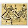 Bruce NAUMAN (né en 1941, vit et travaille au Nouveau-Mexique) Soft Ground, 2006 Lithographie sur papier Signé et numéroté 14/50 en ...