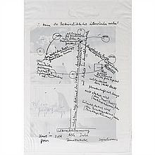 Joseph BEUYS (1921-1986) Le sachet comparaison de deux structures sociales Documents photographiques d'action de Joseph Beuys...